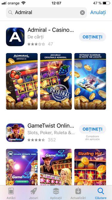 admiral app store
