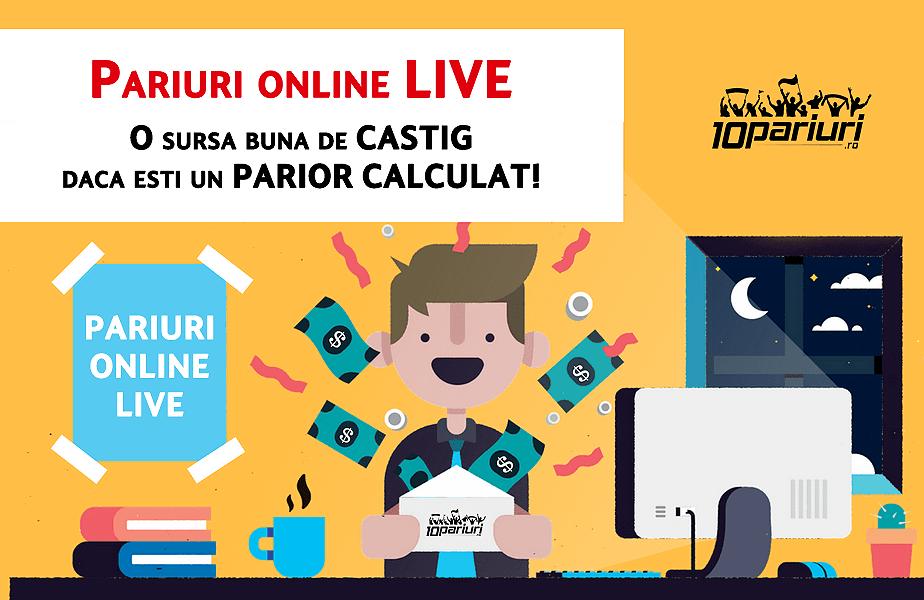 pariuri online live