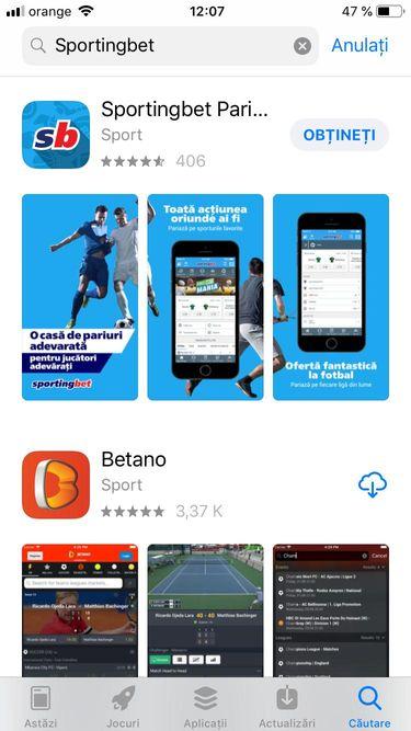 sportingbet App Store