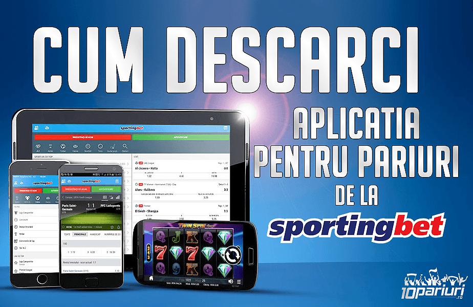 Sportingbet app descărcare