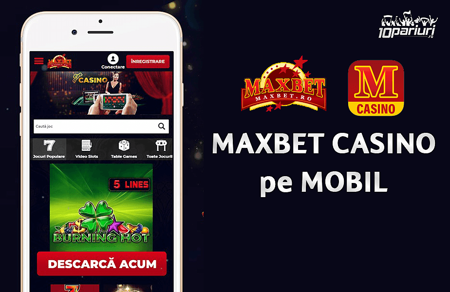 Maxbet Casino aplicatie