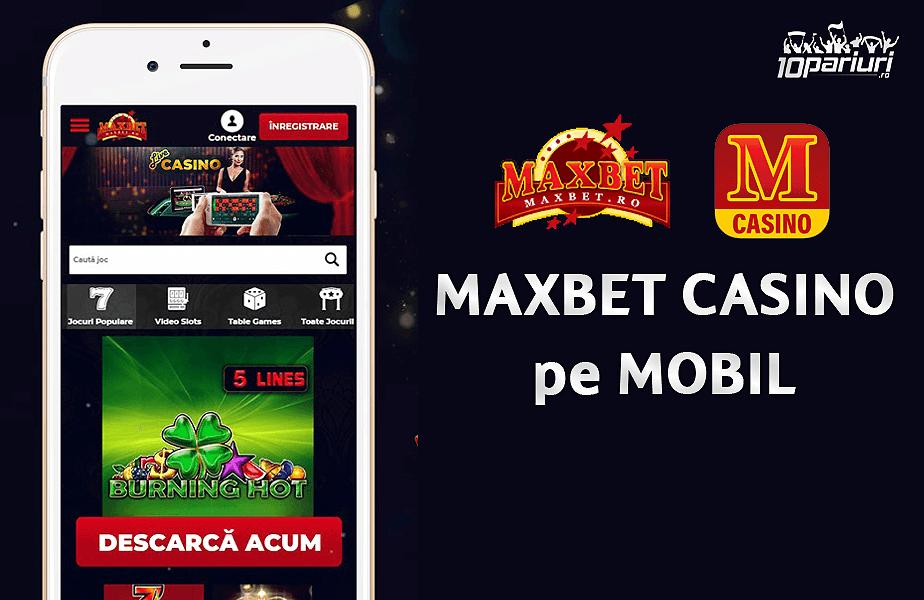 Maxbet Casino mobil