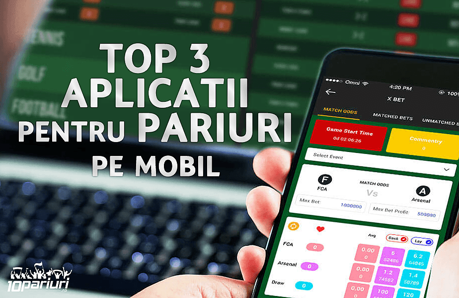 aplicații pentru pariuri pe mobil