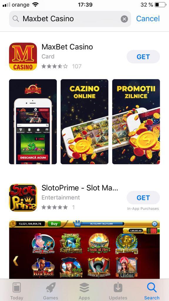 Maxbet Casino App Store