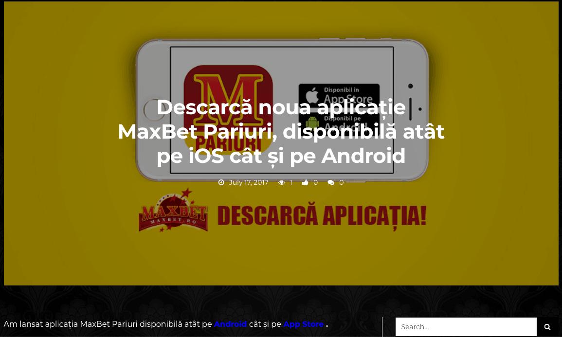 maxbet mobil - descarcă app