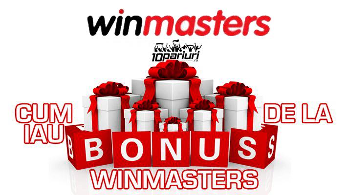 cum iau bonus de la winmasters