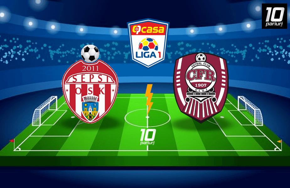 Sepsi - CFR Cluj ponturi pariuri
