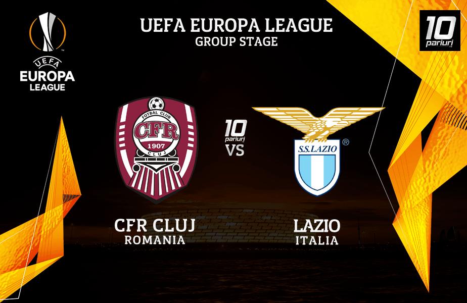 ponturi pariuri CFR Cluj vs Lazio