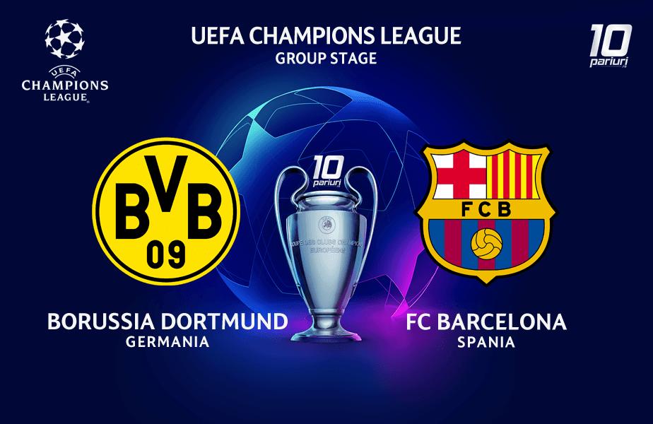 ponturi pariuri Dortmund vs Barcelona 17.09.2019
