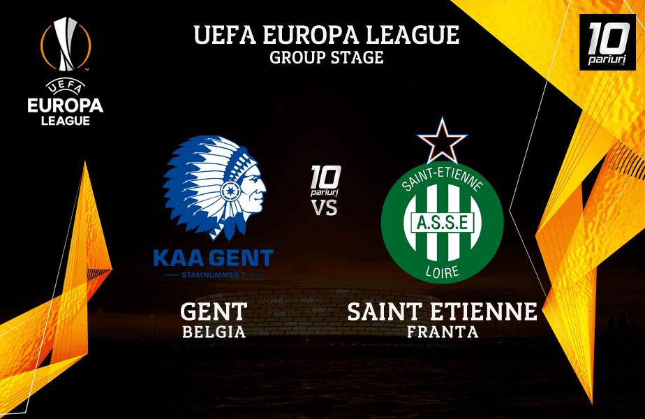 Ponturi Pariuri Gent vs St. Etienne