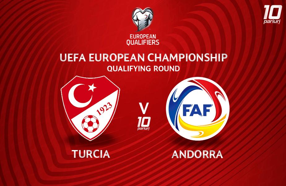 ponturi pariuri Turcia vs Andorra