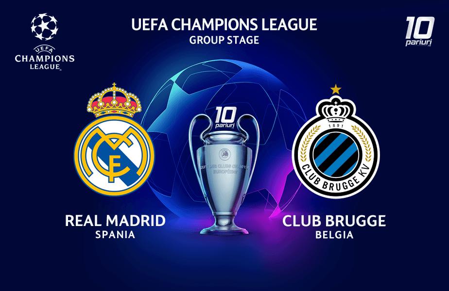 Pronosticuri fotbal Real Madrid vs Club Brugge - 01.10 ...