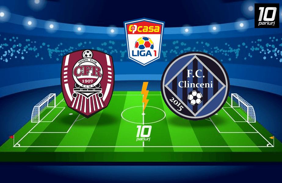 Ponturi fotbal CFR Cluj vs Clinceni