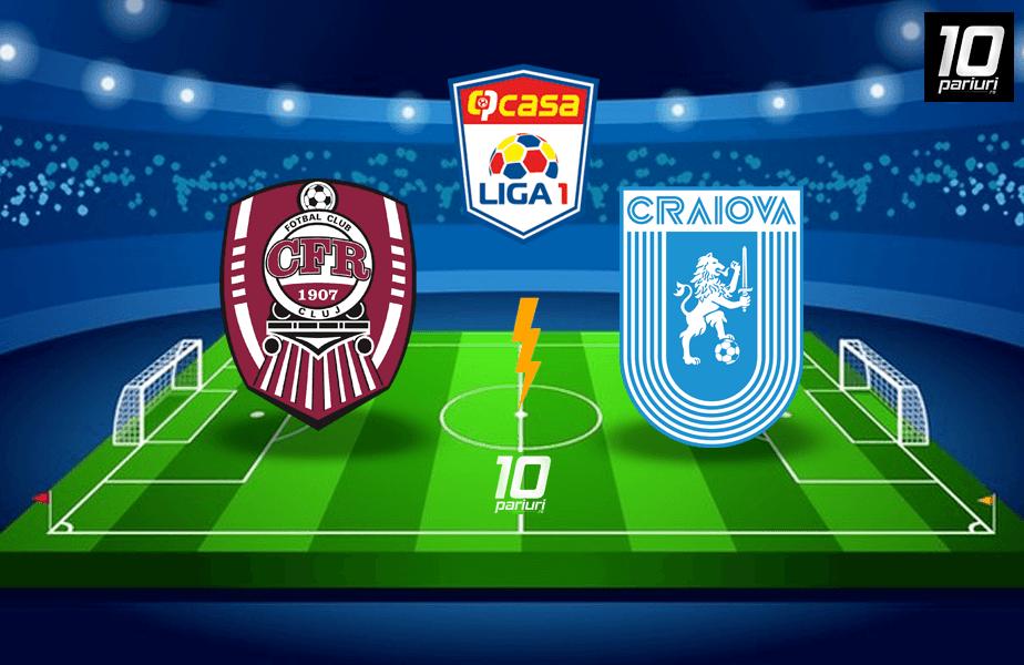 ponturi fotbal CFR Cluj vs U Craiova
