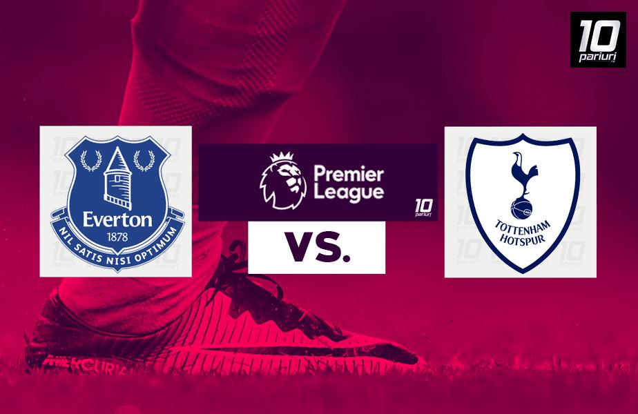 Ponturi pariuri Everton vs Tottenham