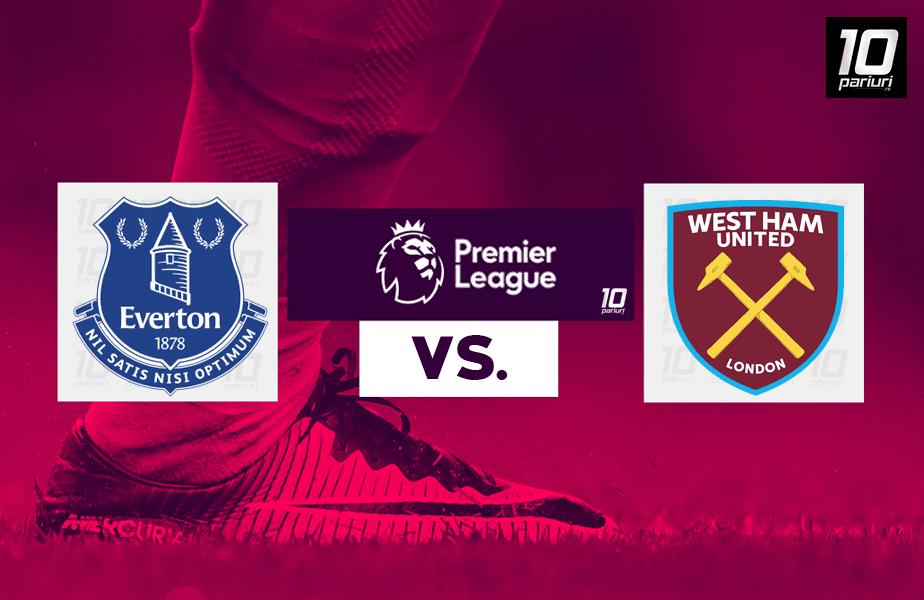 Everton - West Ham ponturi pariuri