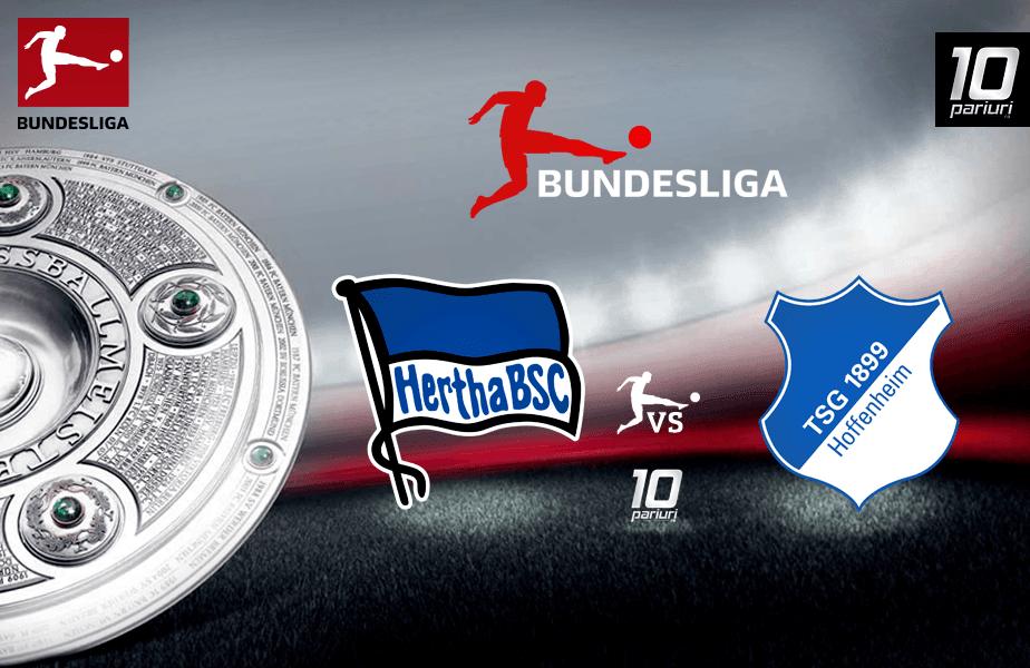 Ponturi fotbal Hertha vs Hoffenheim
