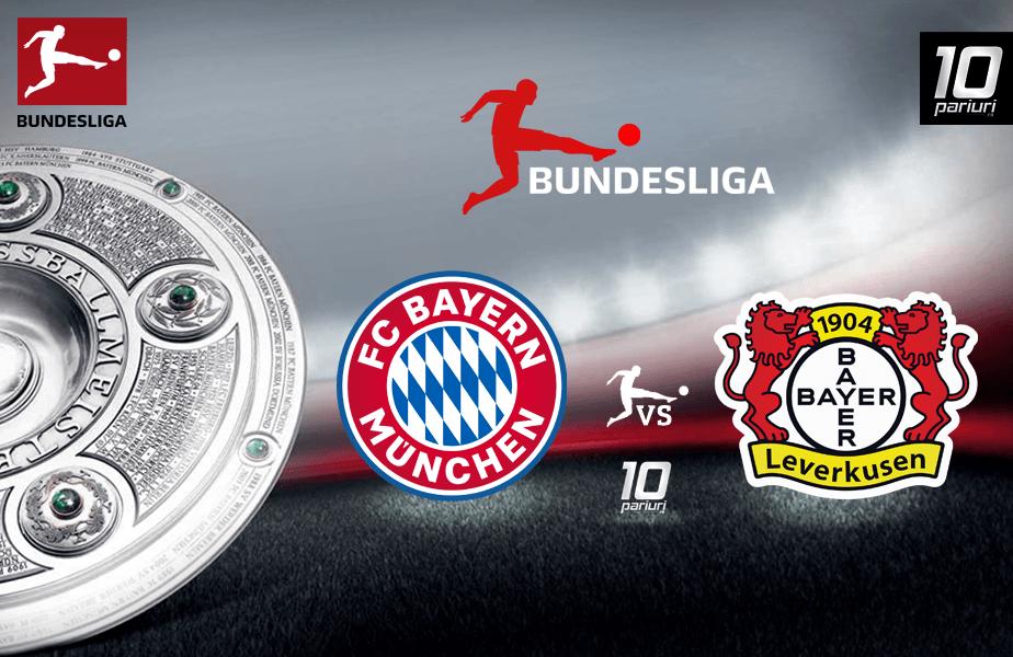 Bayern - Leverkusen ponturi pariuri