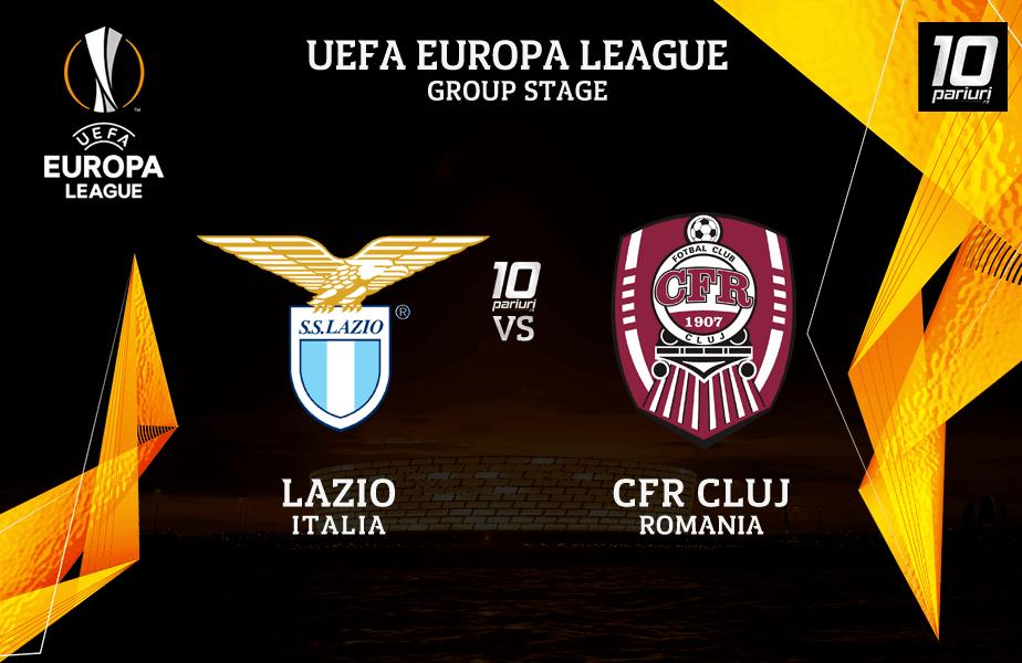 Pronosticuri Lazio vs CFR Cluj