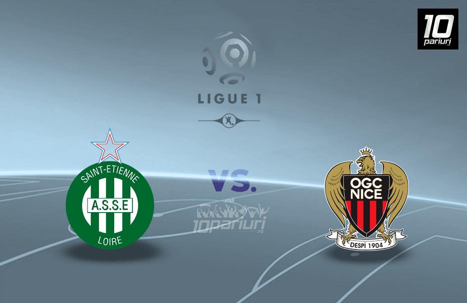 Ponturi St. Etienne vs Nice