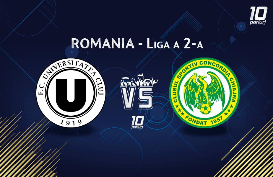 Predictii U Cluj vs Concordia Chiajna
