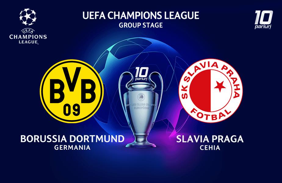 Dortmund vs Slavia Praga
