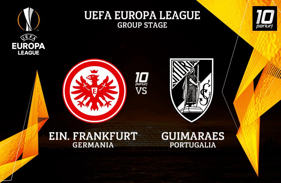 Ponturi fotbal Frankfurt vs Guimaraes