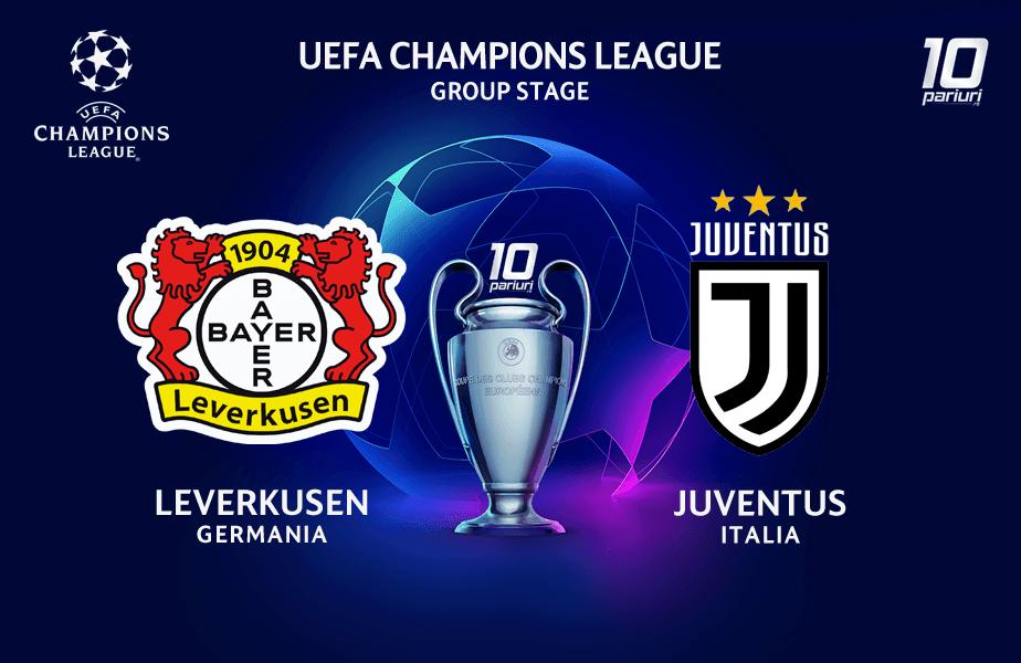 Pronosticuri Leverkusen vs Juventus