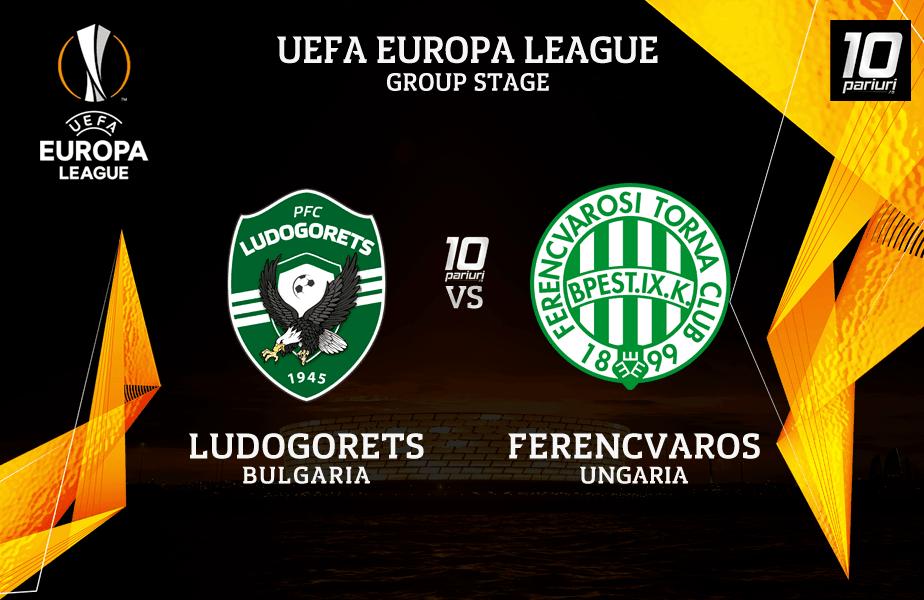 Ponturi Pronosticuri Ludogorets vs Ferencvaros