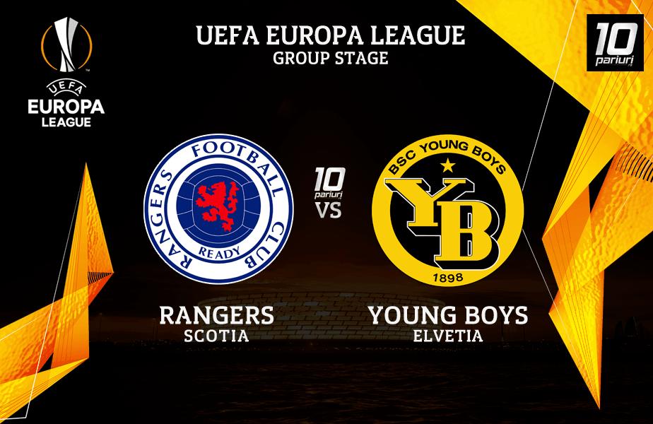 Pronosticuri Rangers vs Young Boys