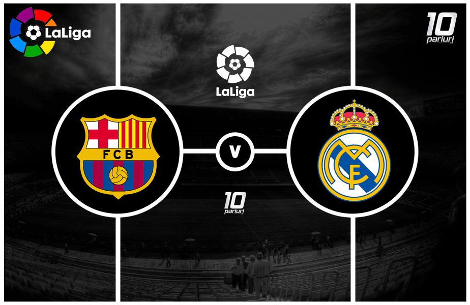 Barcelona - Real Madrid ponturi pariuri 24.10.2020