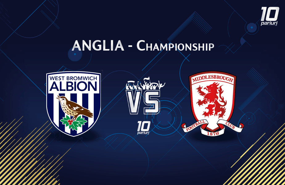 Ponturi West Brom vs Middlesbrough