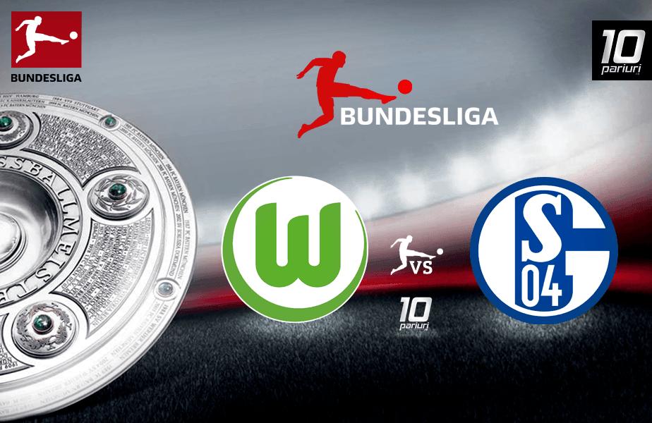Ponturi fotbal Wolfsburg vs Schalke