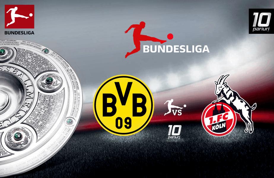 Ponturi fotbal Dortmund vs Koln 23.01.2020