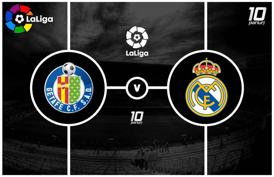 Ponturi pariuri Getafe vs Real Madrid
