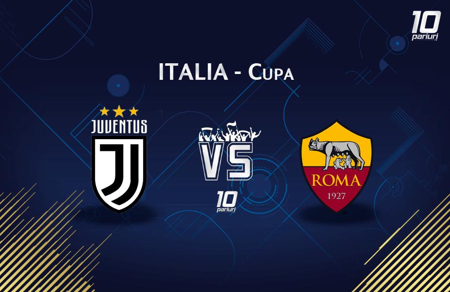 Ponturi fotbal Juventus vs AS Roma 22.01.2020