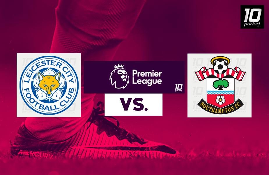 Ponturi Leicester vs Southampton