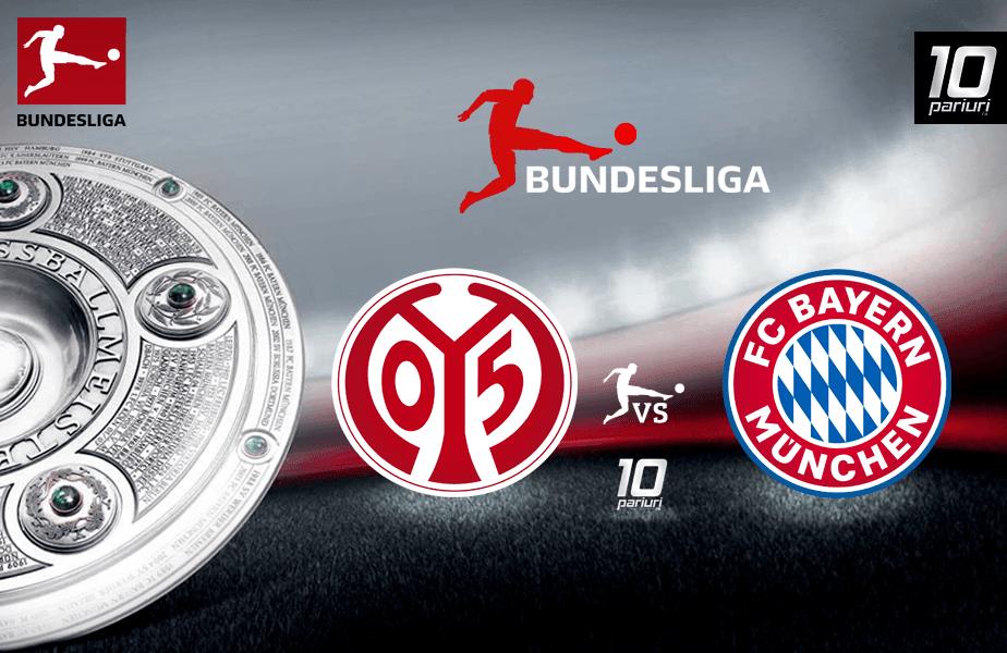 Ponturi Mainz vs Bayern 01.02.2020