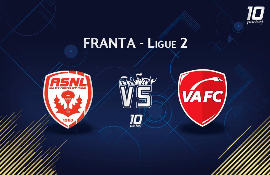 Ponturi Nancy vs Valenciennes