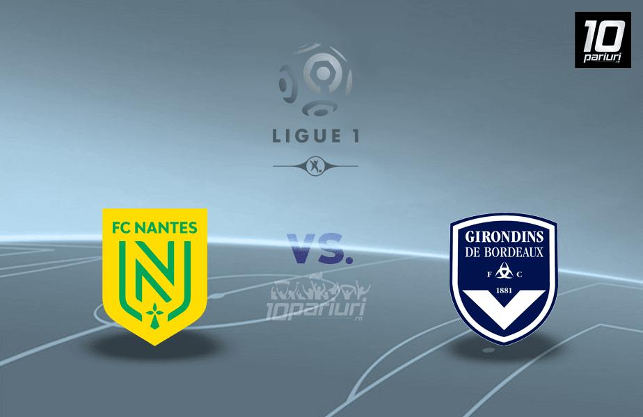 Ponturi Nantes vs Bordeaux