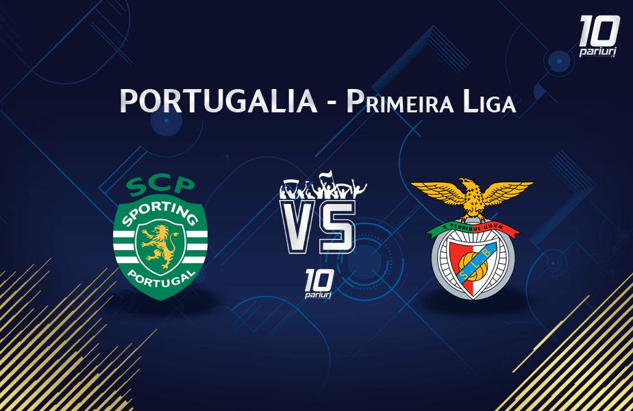 Ponturi Sporting vs Benfica