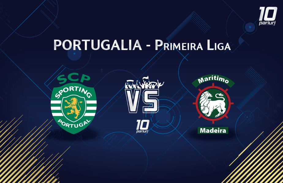 Ponturi Sporting vs Maritimo