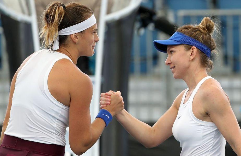 Ponturi pariuri Simona Halep - Aryna Sabalenka - WTA Dubai - 20.02.2020