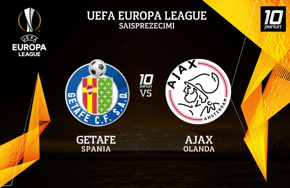 Getafe - Ajax pronosticuri