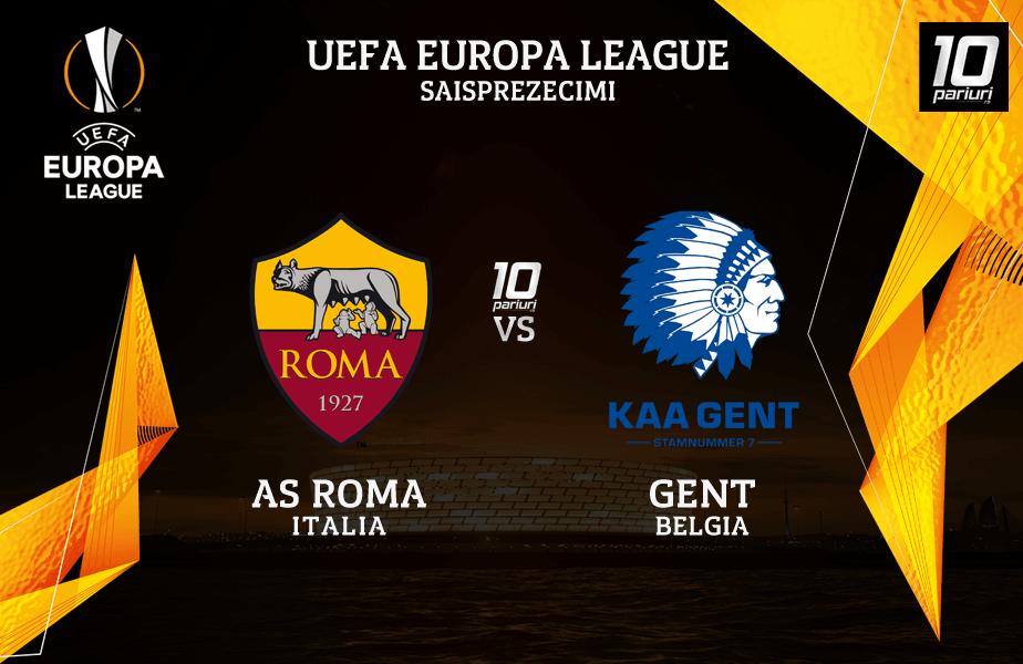 AS Roma vs Gent predictii fotbal 20.02.2020