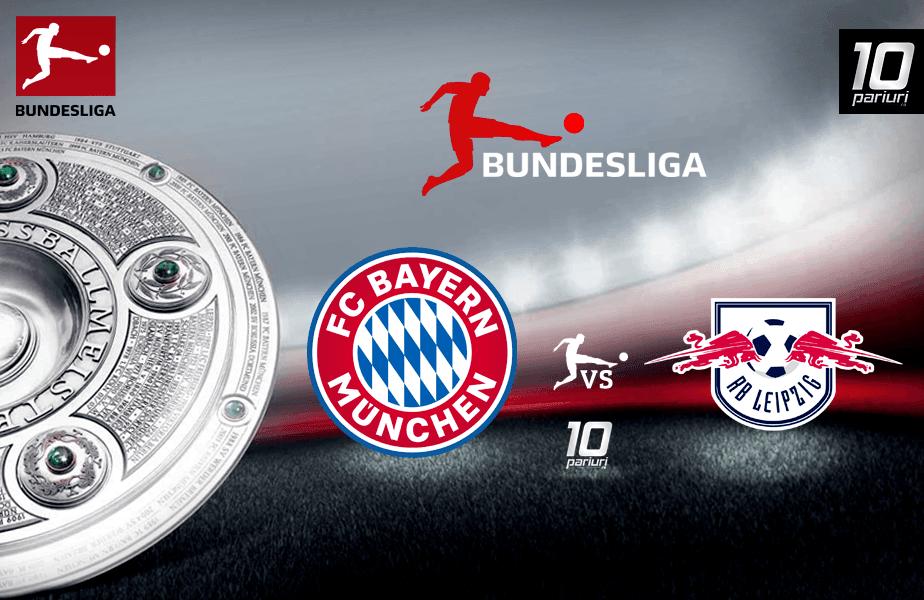 Predictii fotbal Bayern Munchen vs Leipzig 09.02.2020