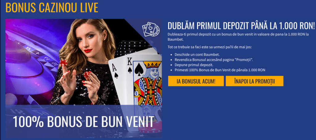 bonus baumbet casino live