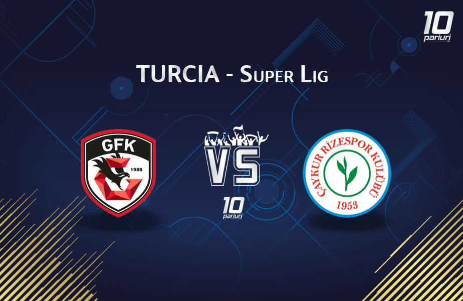 Gaziantep - Rizespor ponturi Turcia Super Lig