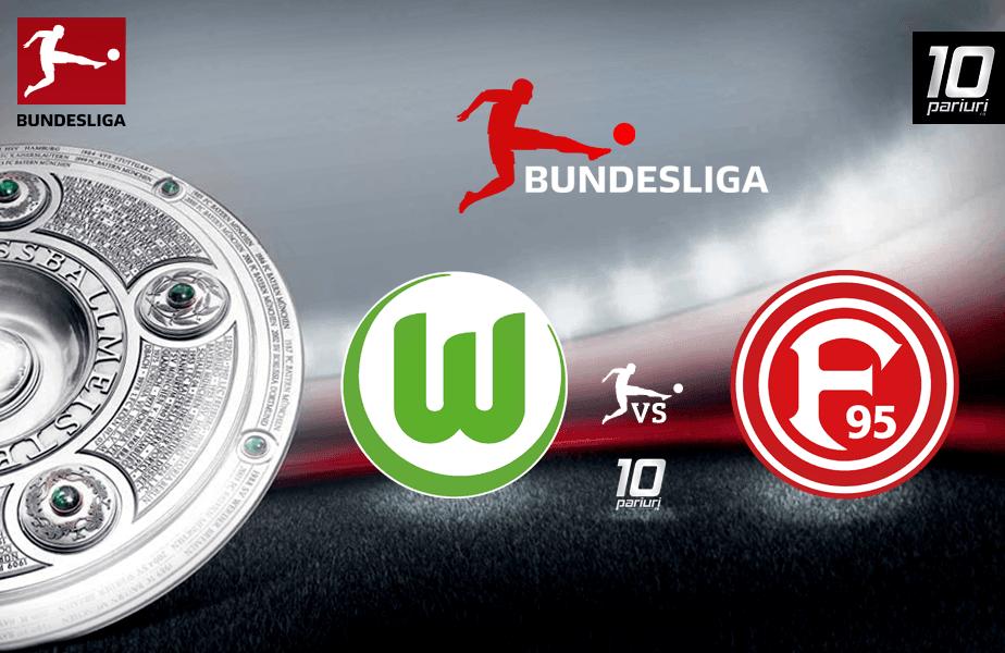 Ponturi Wolfsburg vs Dusseldorf