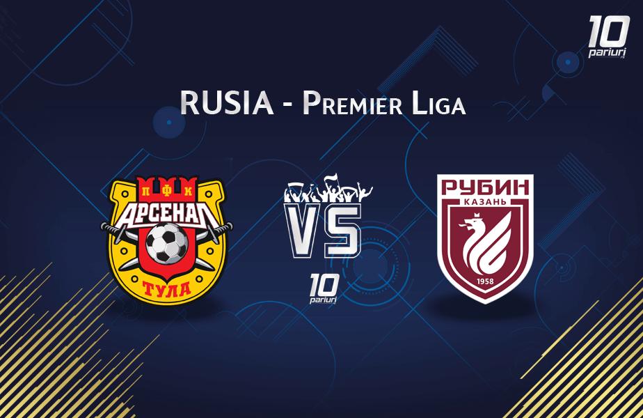 Arsenal Tula - Rubin Kazan pronosticuri 14.03.2020